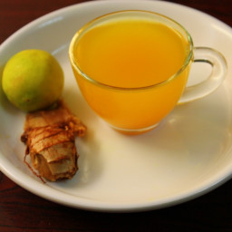 ginger tea for cold recipe, ginger for colds