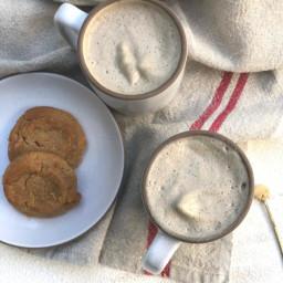 Gingerbread Yerba Mate Latte