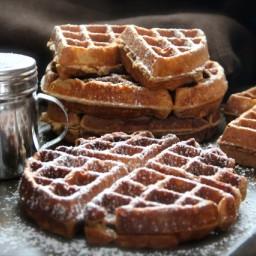 Gingerbread Waffles