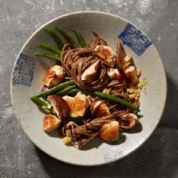 Ginger Chicken with Shiitakes and Green Beans
