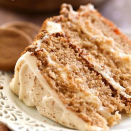 Gingersnap Spice Cake
