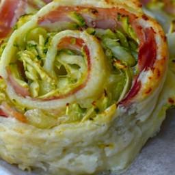 Girelle zucchine e speck
