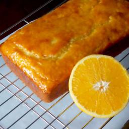 Glazed Orange Yogurt Bread Recipe