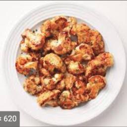 Glazed Roasted Cauliflower
