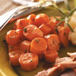 Glazed Carrots with Rosemary Recipe