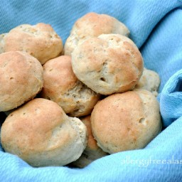 Gluten and Dairy Free Dinner Rolls (Plain, Garlic and Rosemary, or Onion)