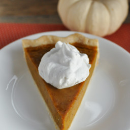 Gluten and Dairy Free Maple Pumpkin Pie