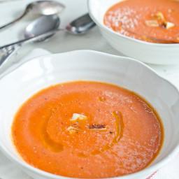 Gluten Free Andalusian Gazpacho Soup