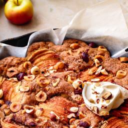 Gluten-Free Apple Skillet Cake