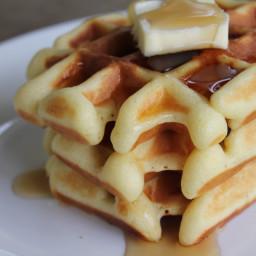 Gluten-Free Belgian Yeast Waffles REcipes