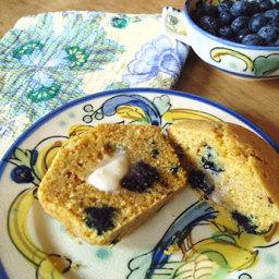 Gluten-Free Blueberry Corn Muffins