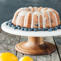 Gluten Free Blueberry Lemon Bundt Cake