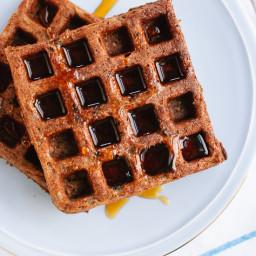 Gluten-Free Buckwheat Waffles