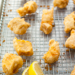 Gluten Free Cassava Flour Beer Battered Halibut