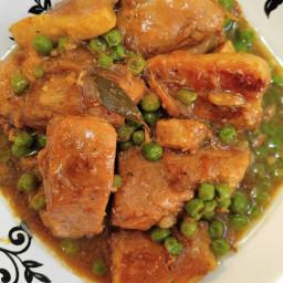 Gluten Free Chicken and Pork Asian Stew