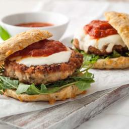 Gluten Free Chicken Parmesan Burgers Recipe