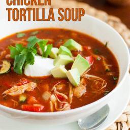 Gluten Free Chicken Tortilla Soup Recipe