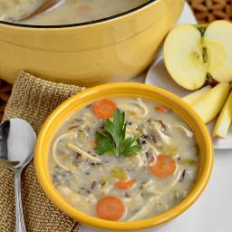 Gluten-Free Chicken & Wild Rice Soup