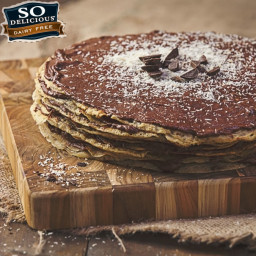 Gluten-Free Chocolate Hazelnut Crepe Cake Recipe