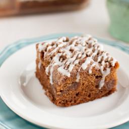 Gluten Free Cinnamon Streusel Coffee Cake