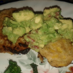 Gluten Free Corn Fritters with Guacamole