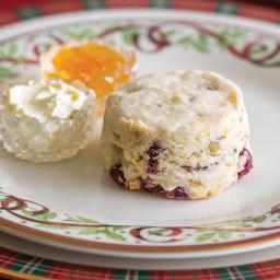Gluten-free Cranberry, Pistachio and Orange Scone