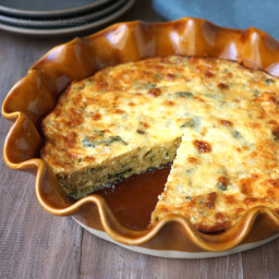 Gluten-Free Crustless Quiche