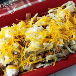 Gluten Free Dairy Free Cheesy Hashbrown Chicken