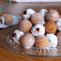 Gluten-Free Doughnut Holes