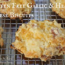 Gluten Free Garlic and Herb Cheese Biscuit