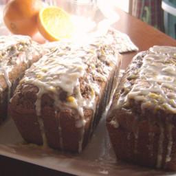 Gluten-Free Gingerbread Loaf with Fresh Orange Glaze