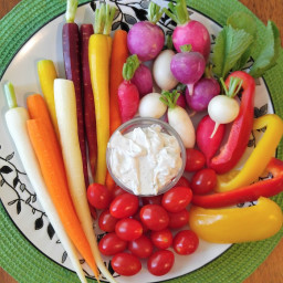 Gluten Free Herb Dip with Vegetables
