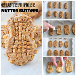 Gluten Free Homemade Nutter Butters