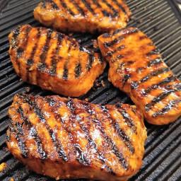 Gluten Free Honey Garlic Pork Chops