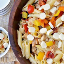 Gluten Free Italian Chicken Pasta Salad