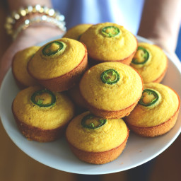 Gluten-Free Jalapeño Cornbread Muffins