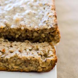 Gluten-Free Lemon Poppyseed Bread