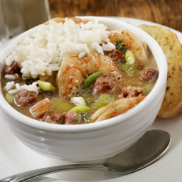 Gluten-Free New Orleans-Style Chicken and Sausage Gumbo Recipe