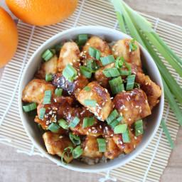 Gluten Free Orange Chicken