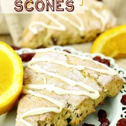 Gluten-Free Orange Cranberry Scones
