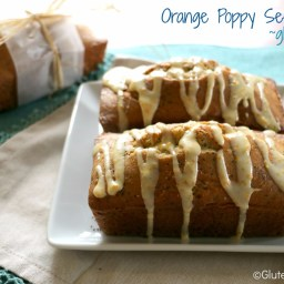 Gluten Free Orange Poppy Seed Bread