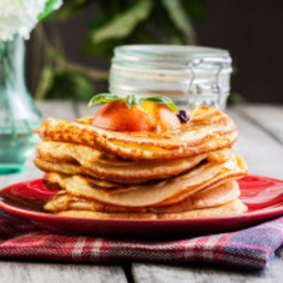 Gluten Free Pancake Recipe with Sorghum Flour