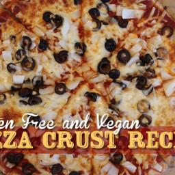 Gluten Free Pizza Crust Recipe - Vegan!