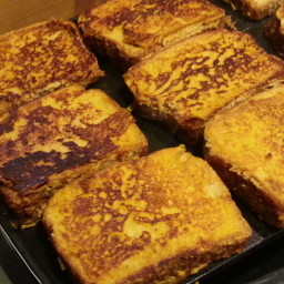 Gluten Free Pumpkin Pie French Toast
