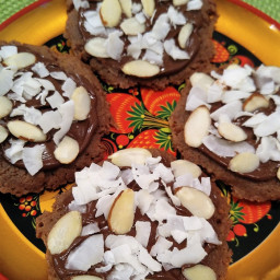 Gluten Free Santa's Chocolate Cookies