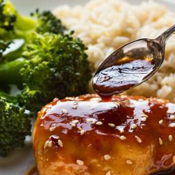 Gluten Free Sesame Chicken with Honey {paleo option}