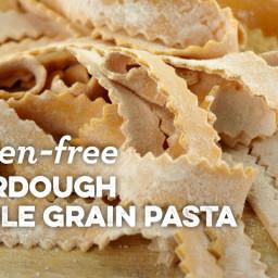 Gluten-free Sourdough Whole Grain Pasta