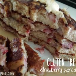 Gluten Free Strawberry Pancakes