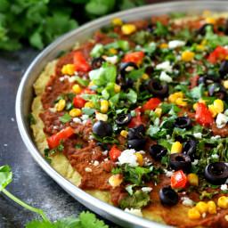 Gluten-Free Taco Pizza