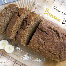 Gluten-free Vegan Banana Bread Recipe - absolutely delicious!